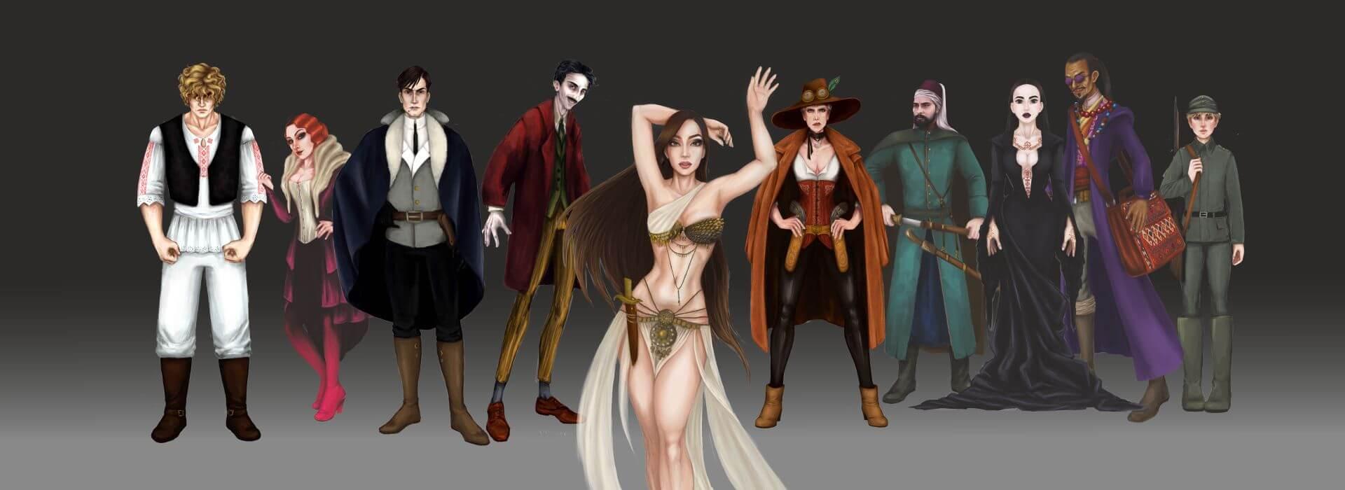Arcadia Tenebra RPG board game