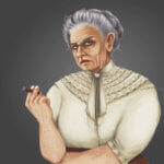 Madame Jahira non-playable character in Arcadia Tenebra RPG board game